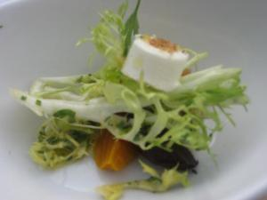 Salad with Beets and Goat Cheese