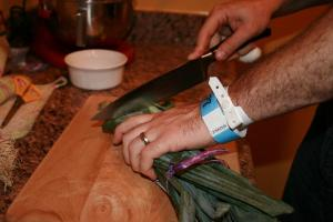 chopping-leeks