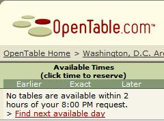 open-table-sold-out