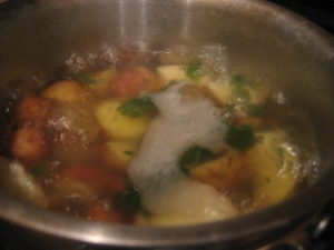 Boiled with Mint