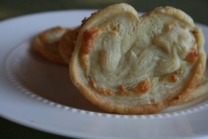 Blue Cheese Palmiers