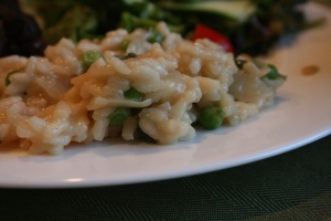 Mint and Pea Risotto