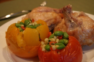 Thomas Keller Chicken and Tomato 004
