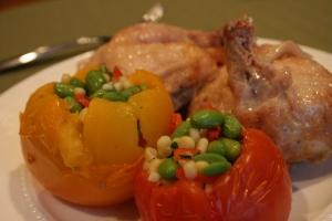 Thomas Keller Chicken and Tomato 004