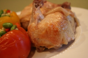 Thomas Keller Chicken and Tomato 005