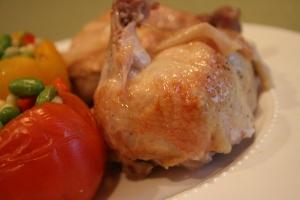 Thomas Keller Chicken and Tomato 005