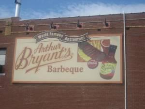 Arthur Bryants Sign