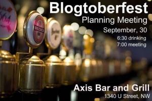 Blogtoberfest