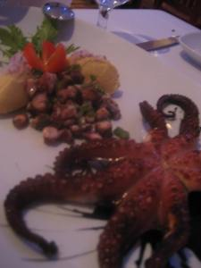 Octopus Appetizer