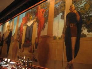 St Regis Bar Mural