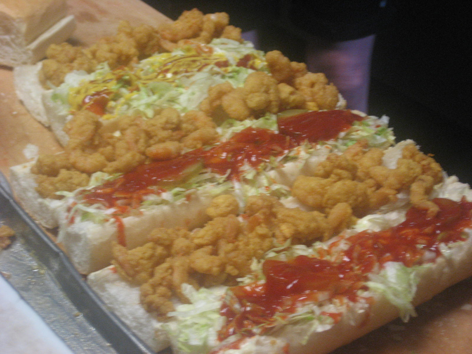 Domilises Shrimp Po Boys